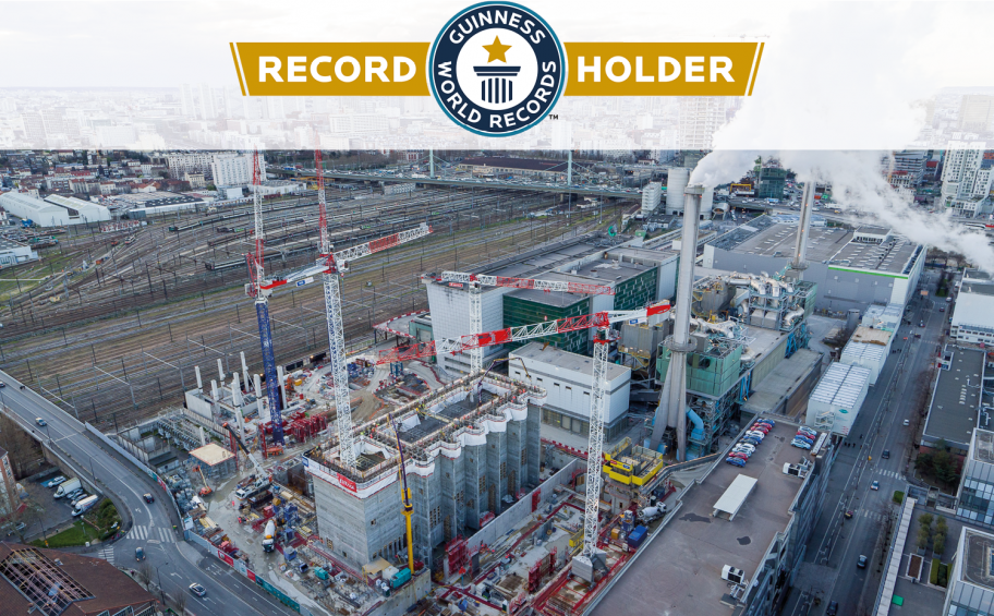 Un Guinness World Records® pour le chantier IP13